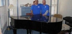 Move a baby grand piano