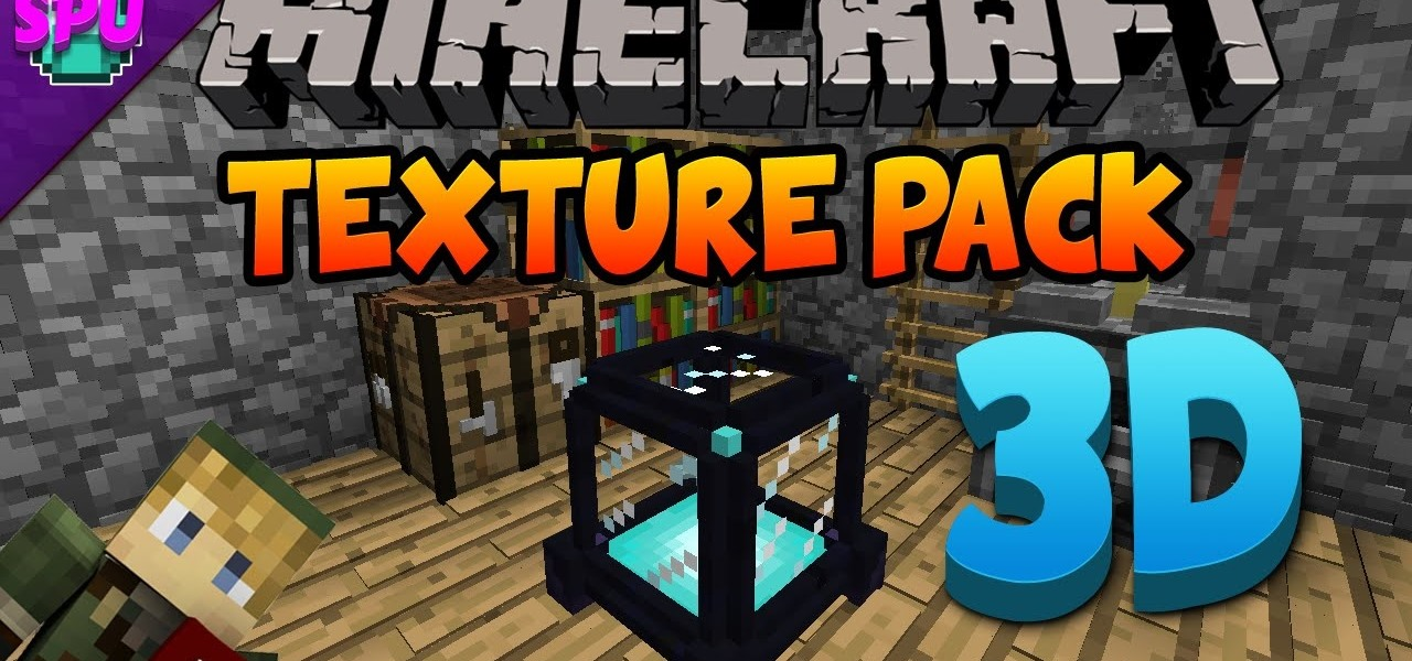 Default 3D Minecraft Texture Pack 1.8 « Minecraft