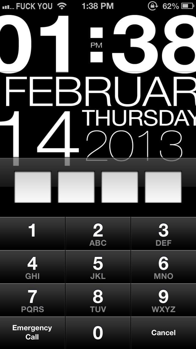 Lock Screen Apps For Iphone Lock Screen on an Iphone
