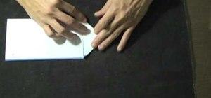 """Fold a letter """"Arrow Style"""""""