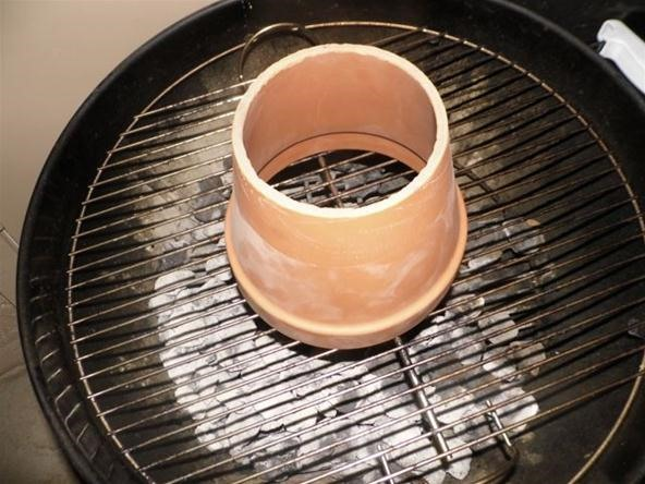 How to Turn Your Charcoal Grill into a Tandoori Oven Using a Flowerpot