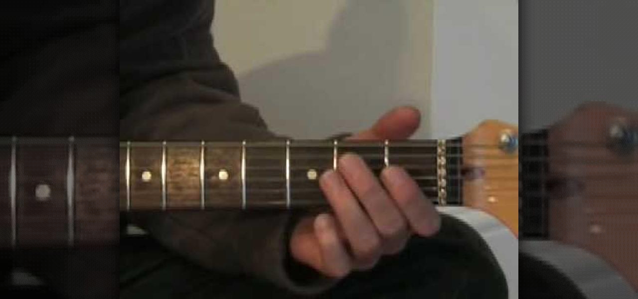 How To Play Sweet Home Alabama Electric Guitar Wonderhowto