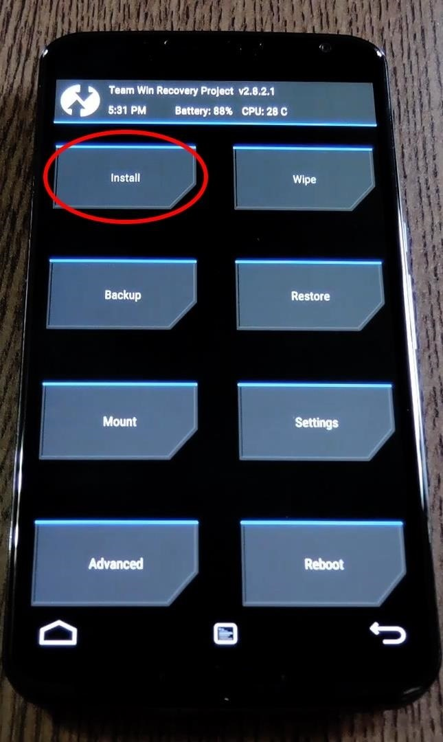 """How to Swap the """"Back"""" and """"Recent Apps"""" Buttons on Your Nexus 6"""