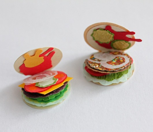 Itty Bitty Burger Zines