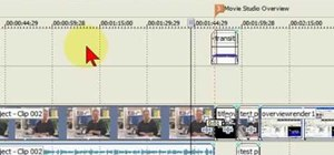 Use Auto Ripple in Sony Vegas & Movie Studio
