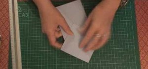 Make a 3D diamond topped card