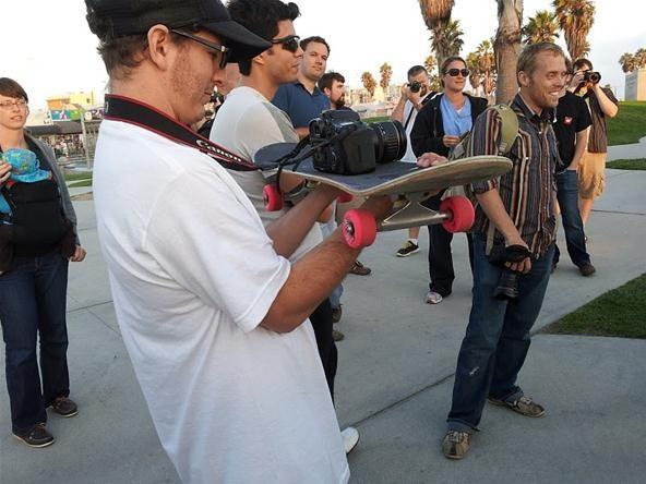 Google+ Venice Skate Park Photo Walk