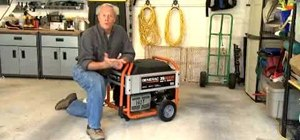 Set up and maintain a portable generator