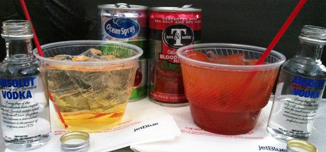 Make Bad Airplane Booze Taste Better (& Save Money, Too)