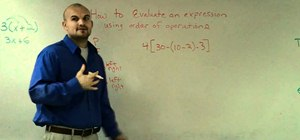 Use PEMDAS to evaluate an algebraic expression