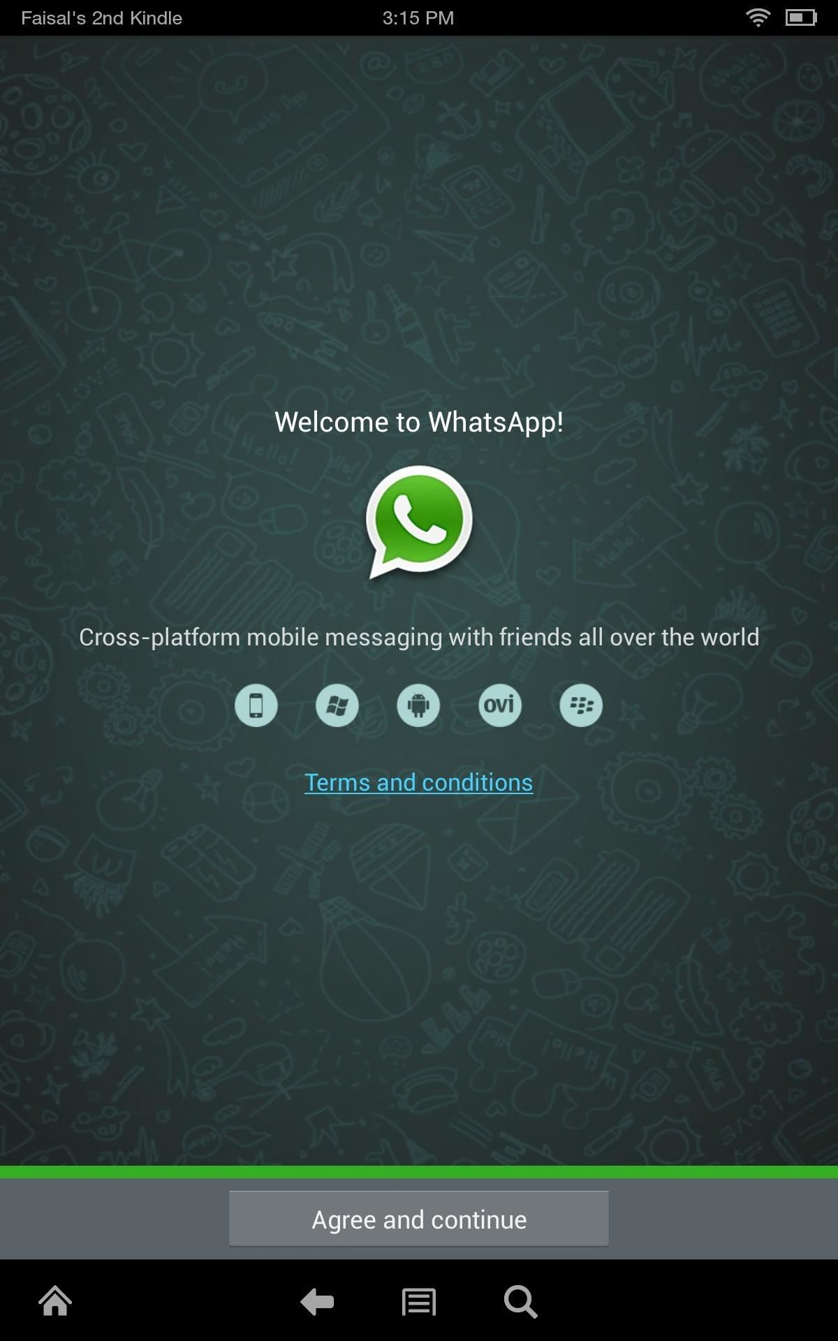 Install WhatsApp on a Kindle Fire HDX or Other Amazon Kindle