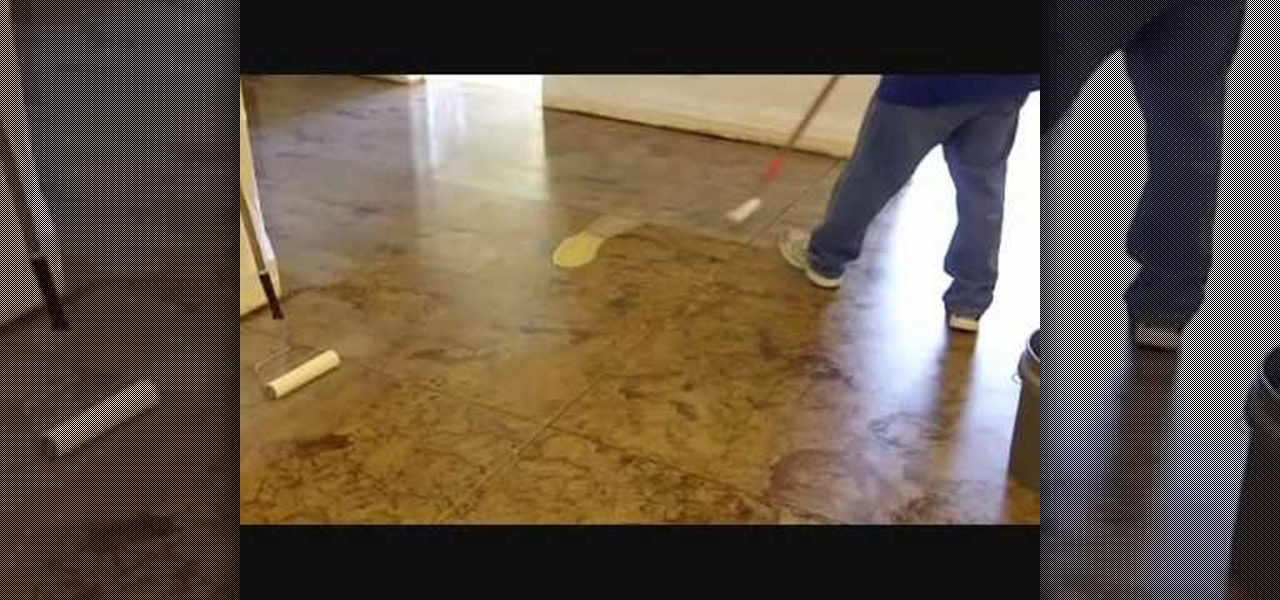 How to stain your concrete floor landscaping for How to clean mud off concrete floor