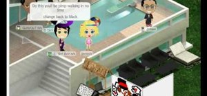 Hack costumes with Yoville pals (09/12/09)