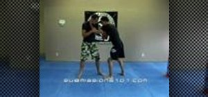 Do a Jiu Jitsu flying arm bar