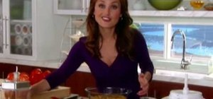 Make pasta alla formiana with Giada De Laurentiis