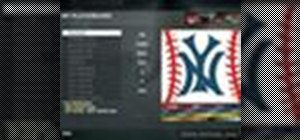 Draw a New York Yankees playercard emblem in the Black Ops emblem editor