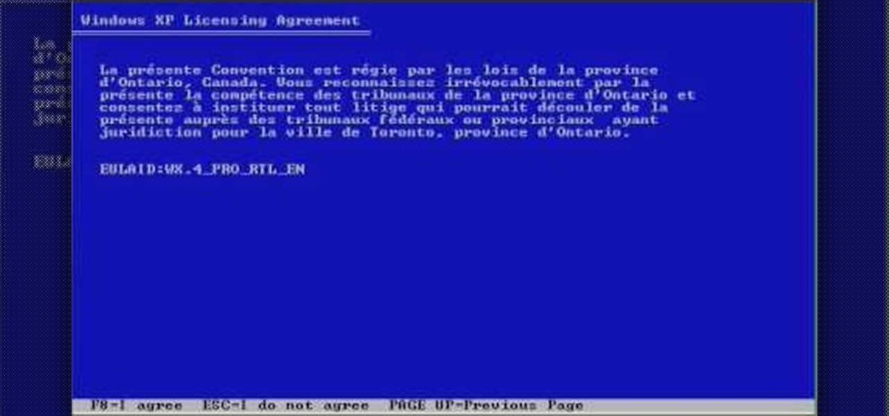 How to Format a Windows XP hard drive � Operating Systems