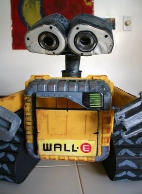 Filth Wizardry: Home made recycled WALL-E