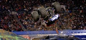 World's First EVER Monster Truck Backflip