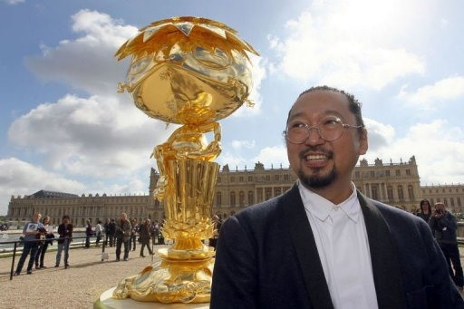 Takashi Murakami Invades Versailles (Much to Old Art Fogie Chagrin)