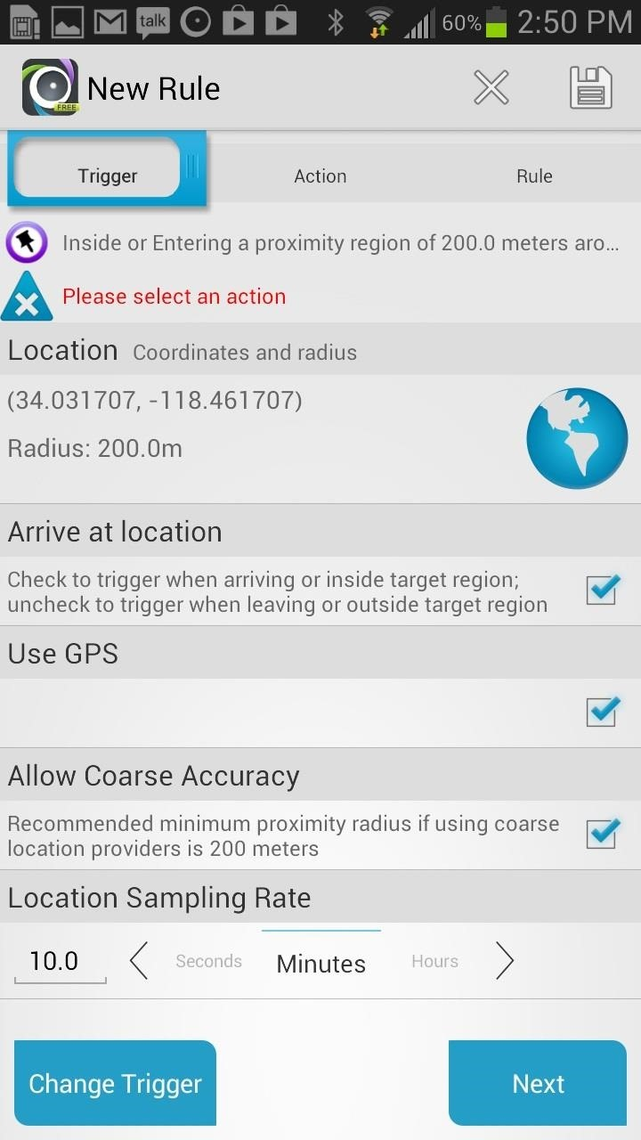 How to Automatically Silence Your Samsung Galaxy Note 2 in a Set Location (Or Automate Any Other Task You Want)