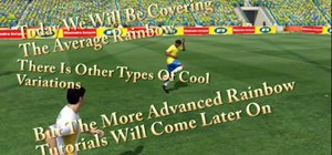 Do the rainbow in the FIFA World Cup 2010 video game