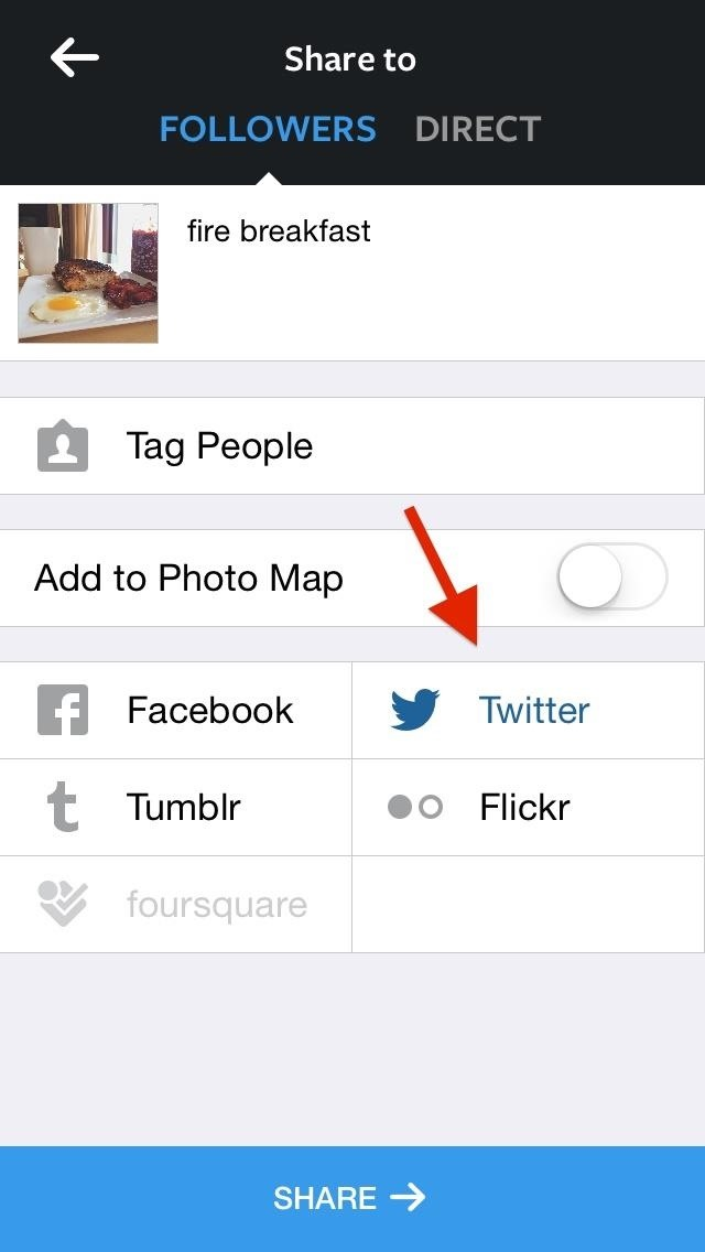 how to get instagram preview photos back on twitter digiwonk