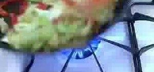 Make delicious garlic ginger bok choy