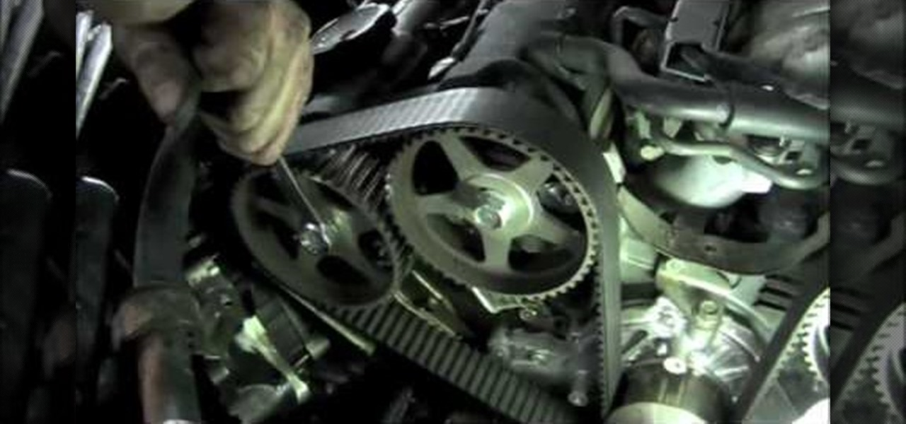 How to Replace a timing belt on a 1991 Mitsubishi 3000GT « Auto Maintenance & Repairs