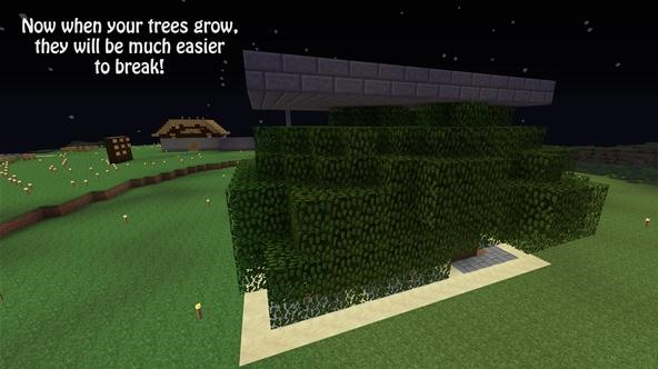 How to build a tree farm in minecraft for easy access to for Cool easy things to build out of wood