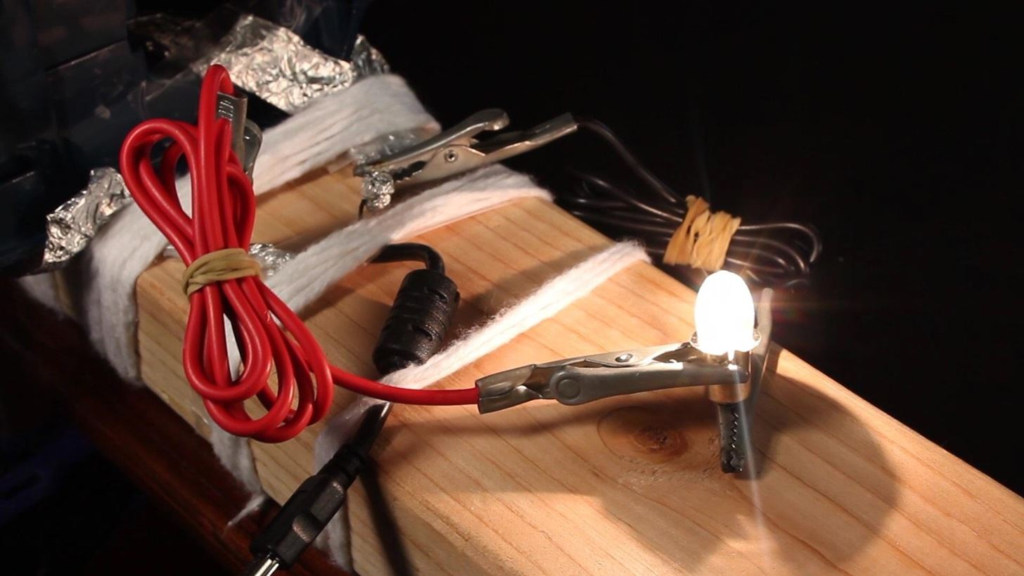 How To Make A 40 Watt Electrical Generator From Common Household Home Wiring Management Items Macgyverisms Wonderhowto