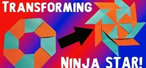 How to Make an Origami 8 Pointed Ninja Star