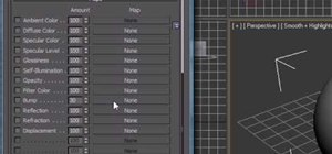 Apply maps to an object in 3Ds Max