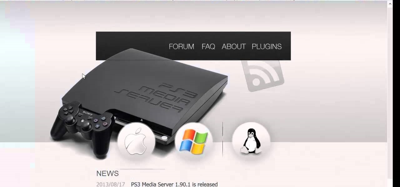 Download Torrents and Set Up PS3 Media Server
