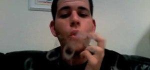 Blow smoke rings