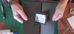 Make a picture flip greeting card