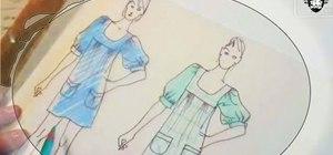 Draw a fashion sketch with Threadbanger & Simplicity