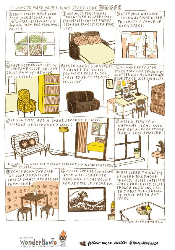 ways to make your space bigger