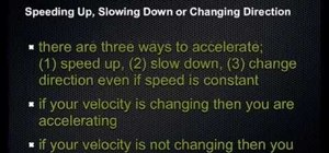 Calculate acceleration in physics