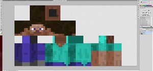 Create your skins for your Minecraft character in Adobe Photoshop