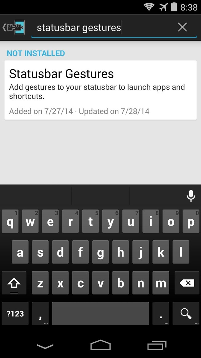 How to Launch Apps Straight from the Status Bar on Your Nexus 5