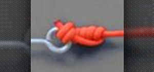 Tie a Trilene knot with a knot tying animation