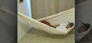 Sleep comfrotably in a hammock