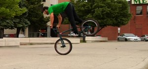 Do a nose manual on a BMX bike with Corey Martinez
