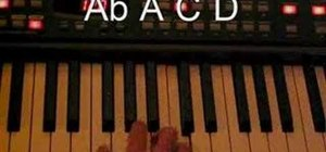 Play a funky jazz Rhodes beat on piano