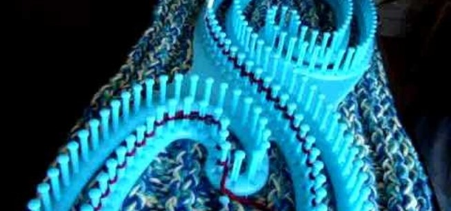 How To Knit With A Serenity Loom Knitting Crochet Wonderhowto