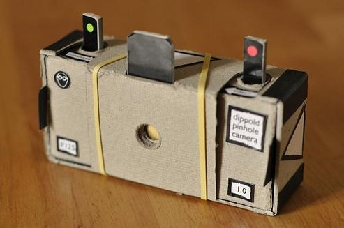 Printer + Paper + Rubberband = Cheapest Camera in the World
