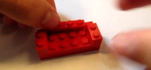 Build a couch with Legos