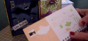 Make Halloween cards with Cricut Wild Card