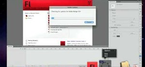 Make a slideshow With Adobe Flash CS4